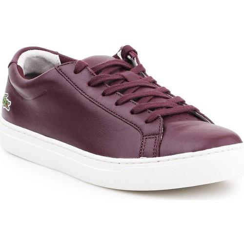 Shoes Women Low top trainers Lacoste L.12.12 317 1 CAW 7-34CAW0016FD8 purple
