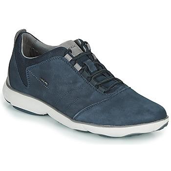 Shoes Men Low top trainers Geox U NEBULA Blue