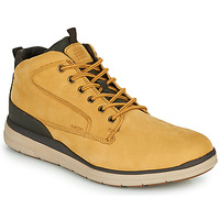 Shoes Men Hi top trainers Geox U HALLSON Brown