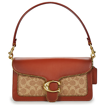 Bags Women Small shoulder bags Coach TABBY Cognac / Signature