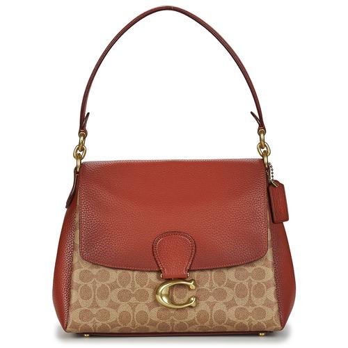 Bags Women Small shoulder bags Coach MAY Cognac