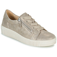 Shoes Women Low top trainers Gabor 6333462 Beige / Gold