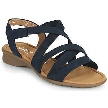 Shoes Women Sandals Gabor 6606636 Blue