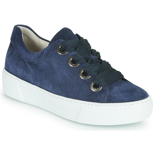 Shoes Women Low top trainers Gabor 6646446 Marine