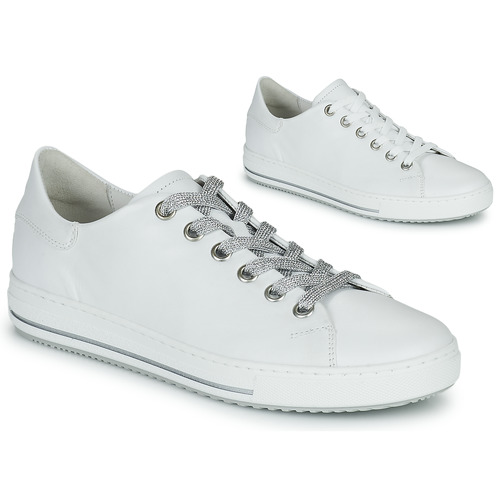Shoes Women Low top trainers Gabor 6651550 White