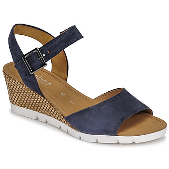 Shoes Women Sandals Gabor 6204245 Marine