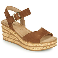 Shoes Women Sandals Gabor 6465118 Brown