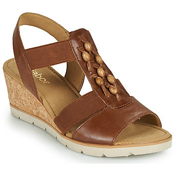 Shoes Women Sandals Gabor 6575024 Brown