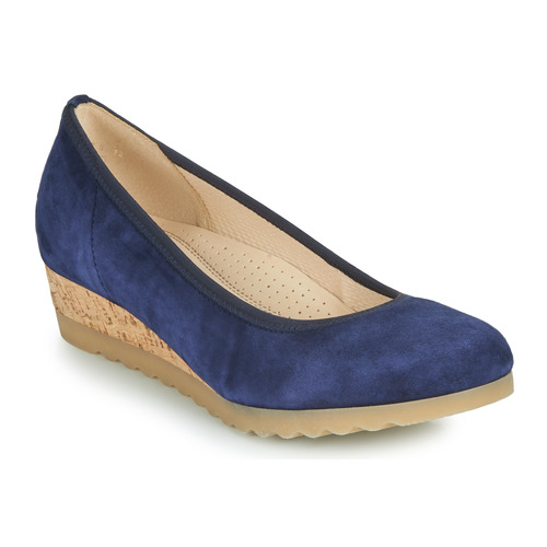 Shoes Women Flat shoes Gabor 6264146 Blue