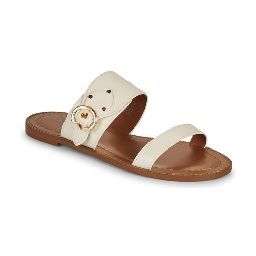 Shoes Women Mules Coach HARLOW Ivory