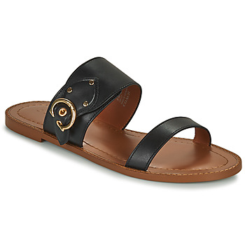 Shoes Women Sandals Coach HARLOW Black