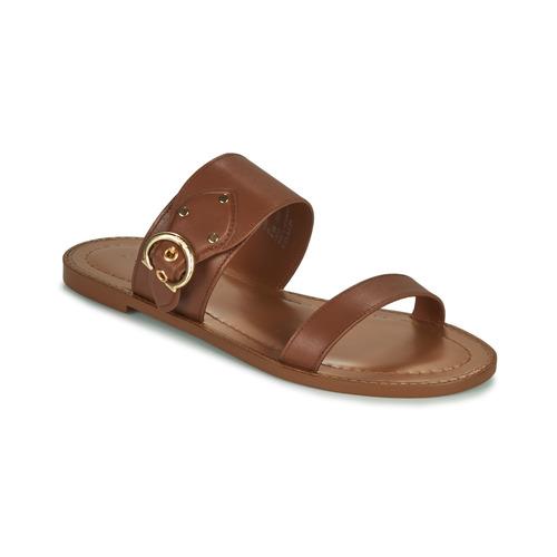 Shoes Women Sandals Coach HARLOW Brown