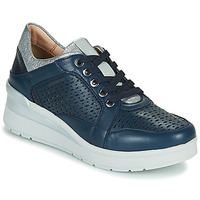 Shoes Women Low top trainers Stonefly CREAM 33 Marine
