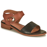 Shoes Women Sandals Barbour LUCY Brown /  black