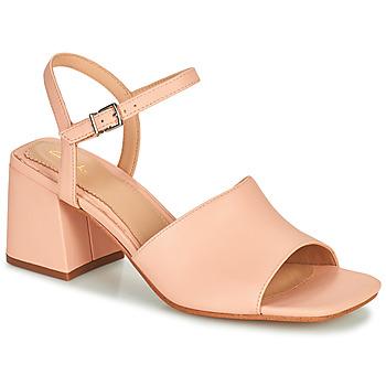 Shoes Women Sandals Clarks SHEER65 BLOCK Pink