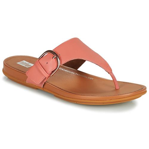 Shoes Women Flip flops FitFlop GRACCIE Pink