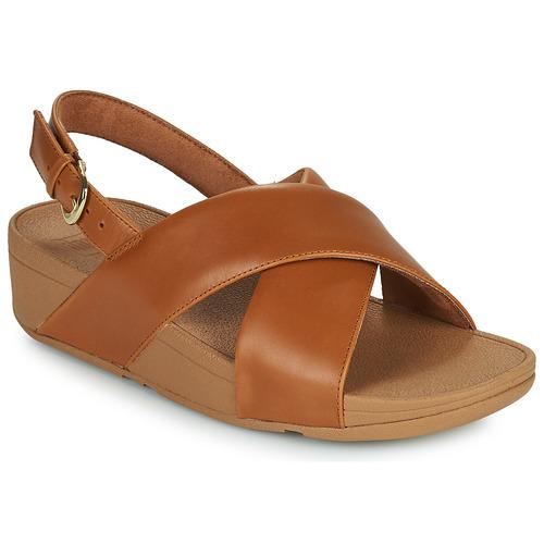 Shoes Women Sandals FitFlop LULU Brown