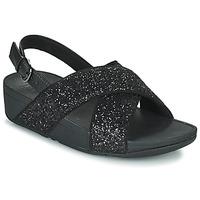 Shoes Women Sandals FitFlop LULU  black