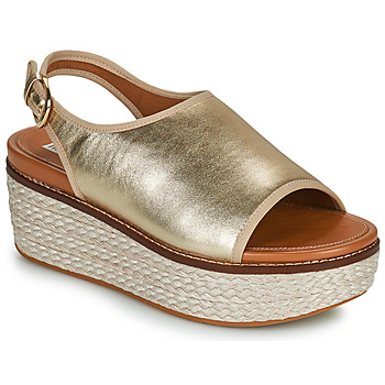 Shoes Women Sandals FitFlop ELOISE Gold