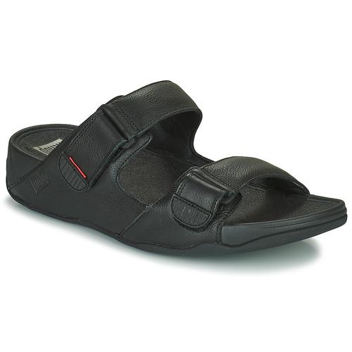 Shoes Men Mules FitFlop GOGH MOC  black