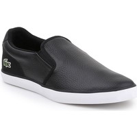 Shoes Men Low top trainers Lacoste Jouer Slip 319 1 CMA 7-38CMA0031312 black