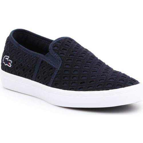 Shoes Women Slip-ons Lacoste Gazon 219 1 CFA 7-37CFA0014092 navy