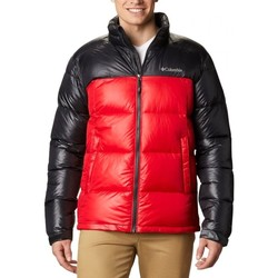 Clothing Men Duffel coats Columbia Pike Lake Jacket Black, Red
