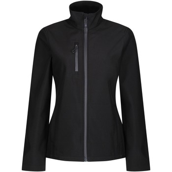 Clothing Women Coats Professional Honestly Made Recycled Softshell Jacket Black Black
