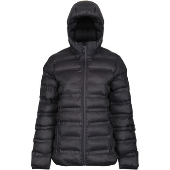 Clothing Women Coats Professional X-Pro Icefall III Insulated Quilted Jacket Black Black