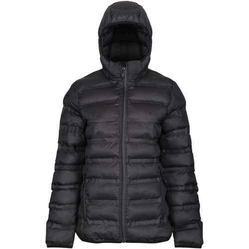 Clothing Women Coats Professional X-PRO ICEFALL Quilted Jacket Black