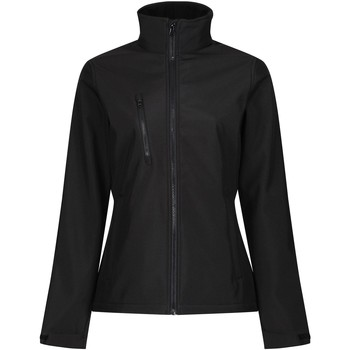 Clothing Women Coats Professional Ablaze 3-layer Printable Softshell Jacket Black Black