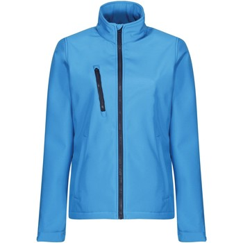 Clothing Women Coats Professional Ablaze 3-layer Printable Softshell Jacket Blue Blue