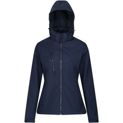 Clothing Women Coats Professional VENTURER Waterproof Softshell Jacket Blue