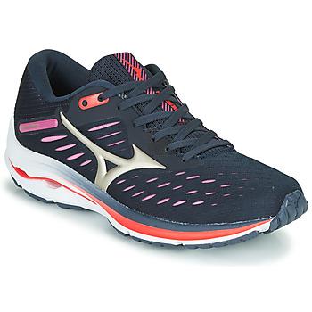 Shoes Women Running shoes Mizuno WAVE RIDER 24 Purple / Pink