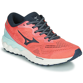 Shoes Women Running shoes Mizuno WAVE SKYRISE 2 Pink / Blue