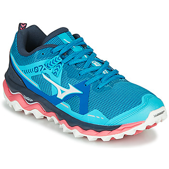Shoes Women Running shoes Mizuno WAVE MUJIN 7 Pink / Blue