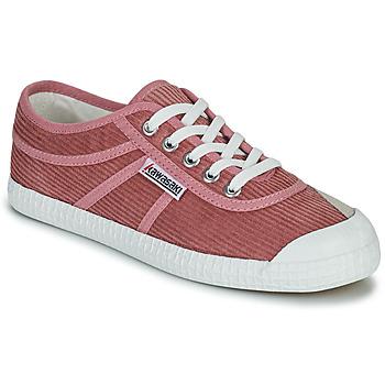 Shoes Women Low top trainers Kawasaki CORDUROY Pink