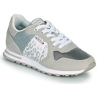 Shoes Women Low top trainers Pepe jeans VERONA W STAIN Grey / Silver