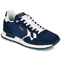 Shoes Men Low top trainers Pepe jeans BRITT MAN BASIC Marine