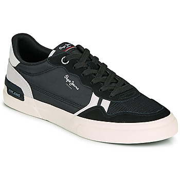 Shoes Men Low top trainers Pepe jeans KENTON BRITT MAN Black