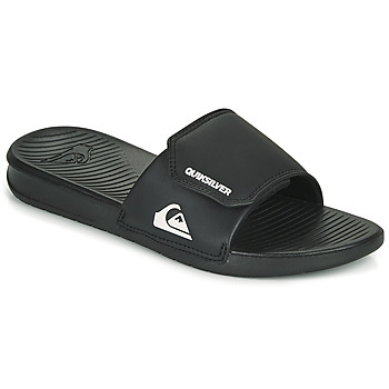 Shoes Men Sliders Quiksilver BRIGHT COAST Black