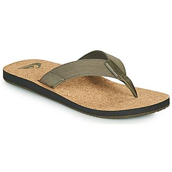 Shoes Men Flip flops Quiksilver MOLOKAI ABYSS NATURAL Beige