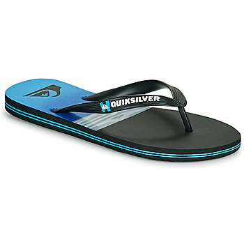Shoes Men Flip flops Quiksilver MOLOKAI HOLD DOWN Black / Blue