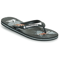 Shoes Men Flip flops Quiksilver MOLOKAI EVERYDAY Black