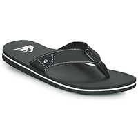Shoes Men Flip flops Quiksilver MOLOKAI ABYSS Black