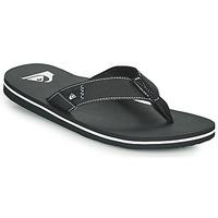 Shoes Men Flip flops Quiksilver MOLOKAI ABYSS Black