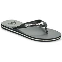 Shoes Men Flip flops Quiksilver MOLOKAI NEW WAVE Black / Grey