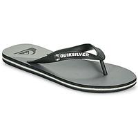 Shoes Men Flip flops Quiksilver MOLOKAI NEW WAVE Black / Grey
