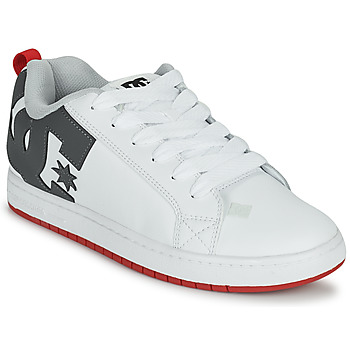 Shoes Men Skate shoes DC Shoes COURT GRAFFIK White / Grey / Red