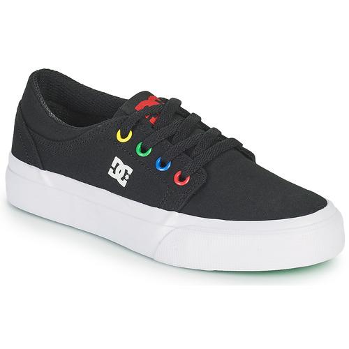Shoes Boy Skate shoes DC Shoes TRASE B SHOE KMW Black